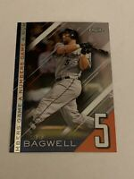 2020 Topps Chrome Update A Numbers Game #NGC8 Jeff Bagwell Refractor Houston