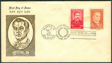 1963 Philippines PRES. MANUEL L. QUEZON First Day Cover - D