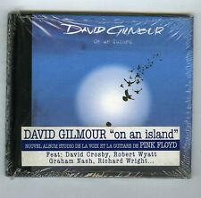 CD (NEW) DAVID GILMOUR ON AN ISLAND ( PINK FLOYD)