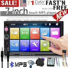 7 Inch Double 7023B 2 DIN Car Stereo FM Radio MP5 Player TouchScreen AUX USB