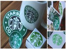Beautiful Starbucks Crystal Glass Stamp Cute Coffee PaperCraft Stationary Supply