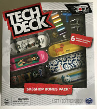 Tech Deck ~ World Edition Limited Series ~ Enjoi Skateboards 6 pack & Tools Etc.