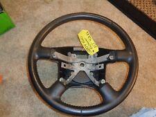 97-05 Ford Explorer Mercury Mountaineer Ranger Black Vinyl Steering Wheel OEM