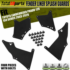 Fender Liner MudFlap Splash Guards For Toyota Land Cruiser Prado 120 150 2003-on