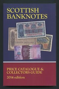 SCOTTISH BANKNOTES Price Catalogue - Brand New - Scotland