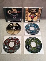 Dark Age of Camelot Lot of PC Games and Case Shrouded Isles Catacombs