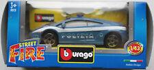 Bburago - Lamborghini Gallardo blau/weiß POLIZIA 1:43 Neu/OVP