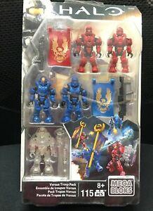 Halo Mega bloks Versus Troop Pack Rare CNH04 new figure toy