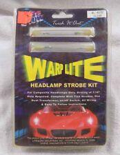 LiteGlow Warp Lite Clear Headlamp Strobe Kit WL-4070    NEW    FREE SHIPPING