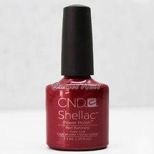 CND SHELLAC UV Gel Nail Polish Base Top Coat 7.3ml 0.25oz Pick ANY Full Color