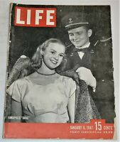 January 6, 1947 LIFE Magazine Old Ads 40s advertising adds FREE SHIPPING Jan 1