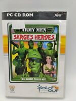 Army Men Sarges Heroes, Used; Good Game - VGC PC CD ROM
