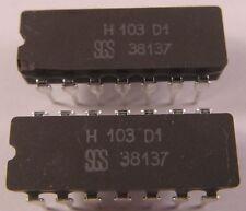 RARITÄT! SGS H103D1 - 2 Stück