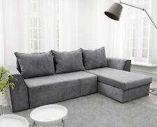 Ecksofa Fabris Modern Couch mit Bettkasten und Schlaffunktion Elegant Wohznimmer
