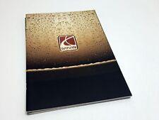2002 Saturn Vue L S Series 3 Door Coupes Full Line Brochure