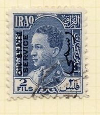 Iraq 1930s Official Early Issue Fine Used 2f. Optd 169965
