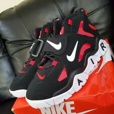 Men's Nike Air Barrage Mid Athletic - Black/Red/White Size 8.5