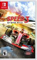 NSW - Speed 3 Grand Prix Nintendo Switch