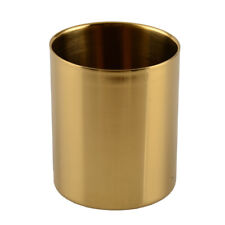 1Pc Stainless Steel Cups Cover Mugs Coffee Beer Camping Travel Cup Gold