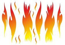"""Aufkleberset """"Flammen"""" Folienaufkleber tuning Sticker flames fire kfz-decal-159"""