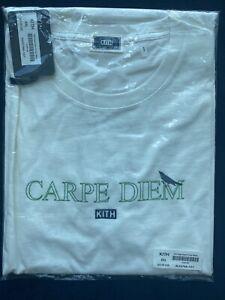 Kith Carpe Diem SS Tee White Size XXL Box Logo Bogo