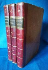 Giovanni Fantoni, Poesie. Italia 1823, 3 volumi Completo, Bella legatura, Ottimo
