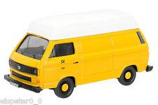 """VW T3 """"Alemán Federal Post"""" Furgoneta / Art Número 452614700 , Schuco Auto1:87"""