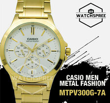Casio Men's Standard Analog Watch MTPV300G-7A MTP-V300G-7A