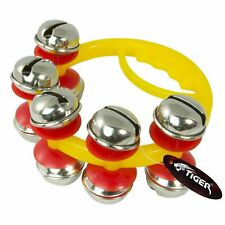 More details for jingle bells - mini sleigh bells - hand percussion bells