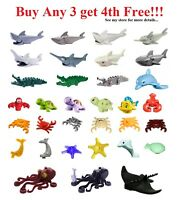☀️NEW Lego PICK YOUR WATER ANIMALS Lot Sea Ocean Friends Pets City Parts bulk