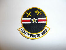 c0083v Vietnam 600th Photo SQD Squadron Patch R10C