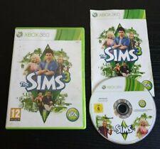 The Sims 3 Xbox 360 Simulator Video Game Manual PAL