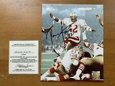 Ronnie Lott Signed Autographed Photo - with certificate of authenticity!