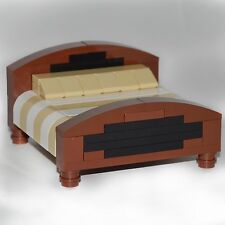 LEGO Furniture:  King Size Bed - Custom Set - HUGE! Minifgure Sized  [house,kit]