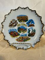 Vintage Souvenir Arizona Grand Canyon State Collector Plate 8 1/4""