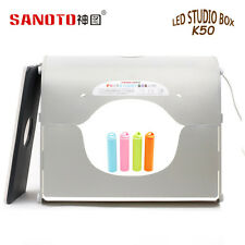 SANOTO  K50 Led  Portable Mini kit photo photography studio light Soft box