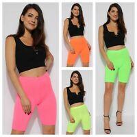 07e89127e24cc New Ladies Womens Neon Cycling Shorts Gym Yoga Festival Club Fashion Hot  Pants