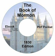 RARE 1830 EDITION BOOK OF MORMON SMITH CD EBOOK PDF-Kindle-iPhone Compatible