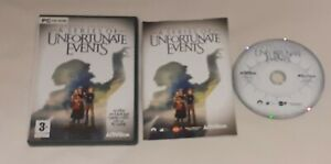 Lemony Snicket's A SERIES OF UNFORTUNATE EVENTS PC CD-ROM