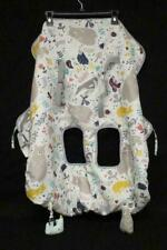 Eddie Bauer Shopping Cart High Chair Cover Reusable White Gray Bear Print New