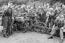 WW2 - Les commandos britanniques avant l'embarquement pour Sword Beach