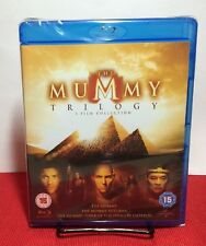 The Mummy Trilogy (Blu-ray Disc,2013,3-Disc Set)NEW-Free Shipping (All 3 Movies)