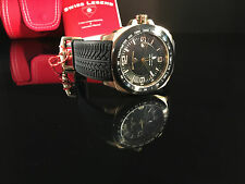 Swiss Legend Men's 21045-RG-01-BB Sprinter Analog Display Swiss Quartz Blk Watch