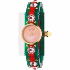 Gucci YA143525 Vintage Web 40MM Women's Two-Tone Translucent Resin Watch