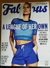 Fabulous Magazine 22/05/16  Alesha Dixon ,  Binky Felstead