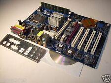 ASRock 775i915PL-SATA2, REV.1.03, LGA 775, Intel Motherboard +CPU+RAM+I/O Shield