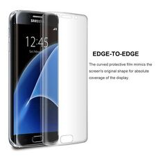100% Genuine tempered glass screen protector for Samsung Galaxy S7 Edge - Clear