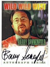 AUTO Wild Wild West movie - A02 Barry Sonnenfeld autograph