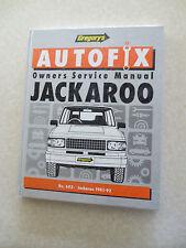 1981 - 1992 Jackaroo service manual