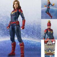 Captain Marvel Tamashii S.H.Figuarts Marvel Avengers Action Figure Model Toys